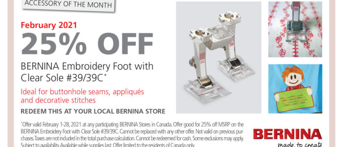 Foot of the Month – February 2021