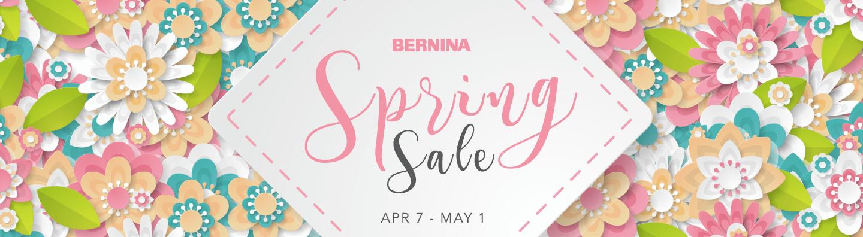 BERNINA Spring Sale